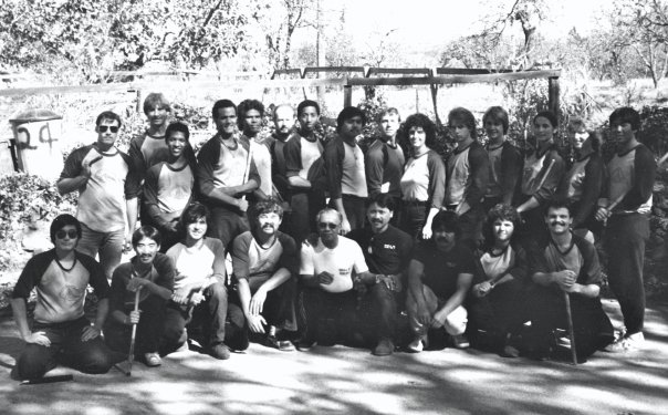 Inayan Class hosting GM Leo Giron, c. 1984